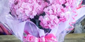 ピンクの紫陽花です