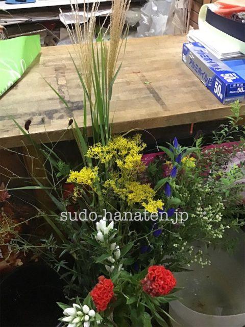 生花のお稽古用の花材